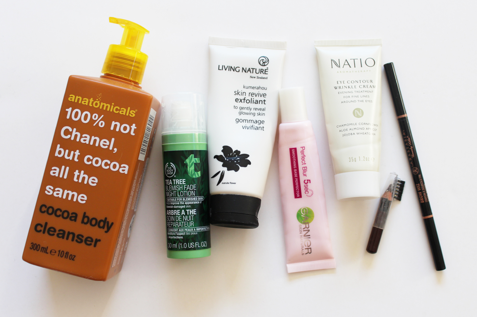 EMPTIES | July '15 - anatomicals, The Body Shop, Natio, ABH, Maybelline + More - CassandraMyee