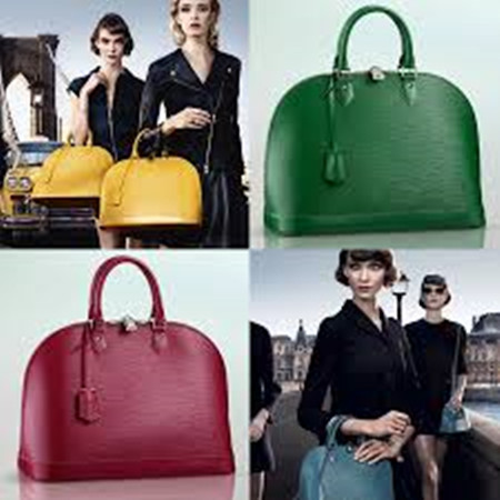 Series 2017 Louis Vuitton Alma Handbags Offer More Color Choice Bright Yellow Orange And Other Mini Size Also Let This Package Show Young