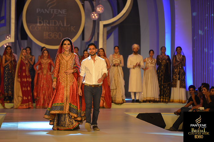 Zaheer Abbas, Pantene Bridal Couture Week 2013,Pakistani Model