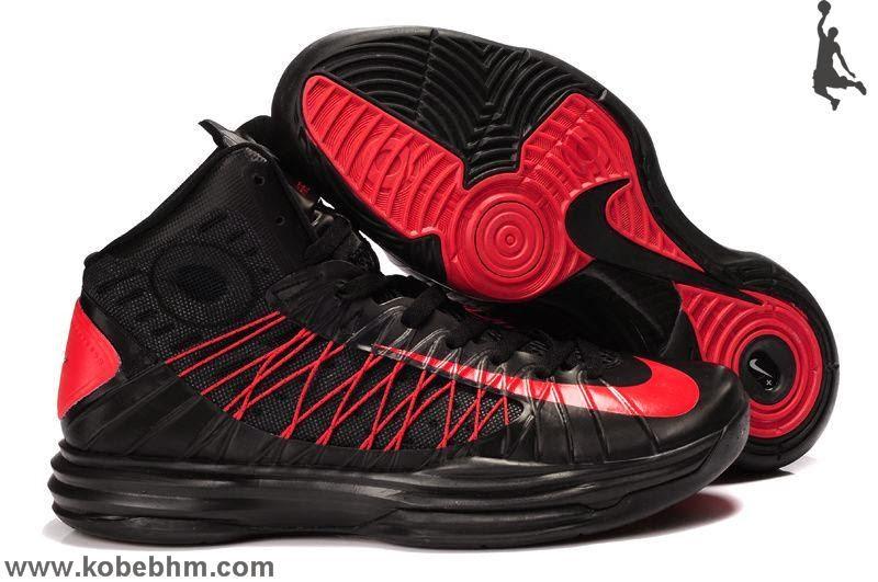 Authentic Nike Lunar Hyperdunk 2013 Mens Basketball Shoes Black