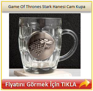 Game Of Thrones Stark Hanesi Cam Kupa