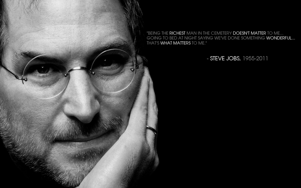 Remembering Steve Jobs Wallpaper Tribute OS X Daily - tribute to steve jobs wallpapers