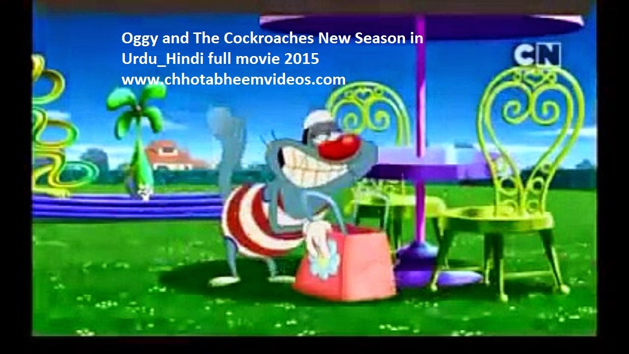 Oggy and The Cockroaches New Season in Urdu_Hindi full movie 2015