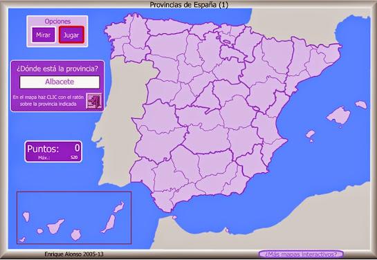 Provincias de España: