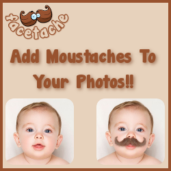 Add moustaches to your photos!