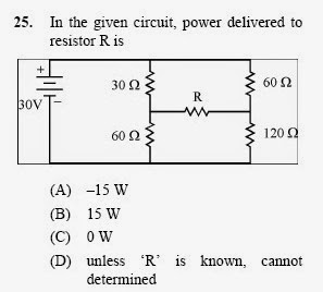 2013 September UGC NET in Electronic Science, Paper III, Question 25