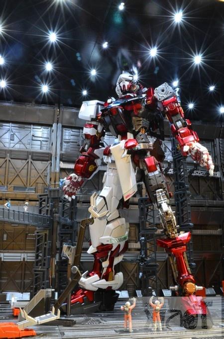 Gundam Guy Pg 1 60 Astray Red Frame Maintenance Bay