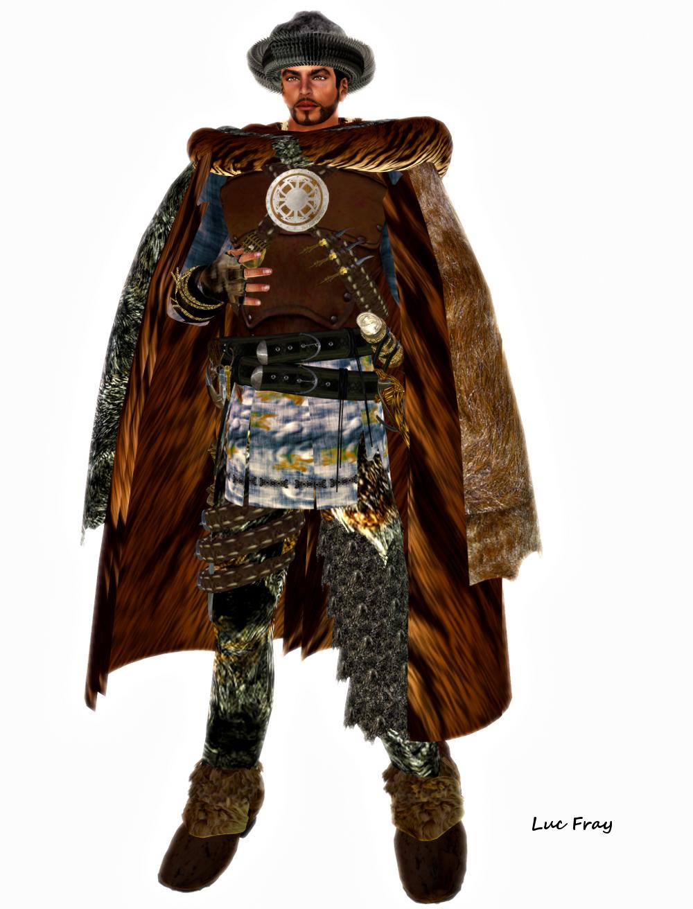 Viking Men Clothing Outfit -  s amp s  viking  blue Ancient Vikings Clothing