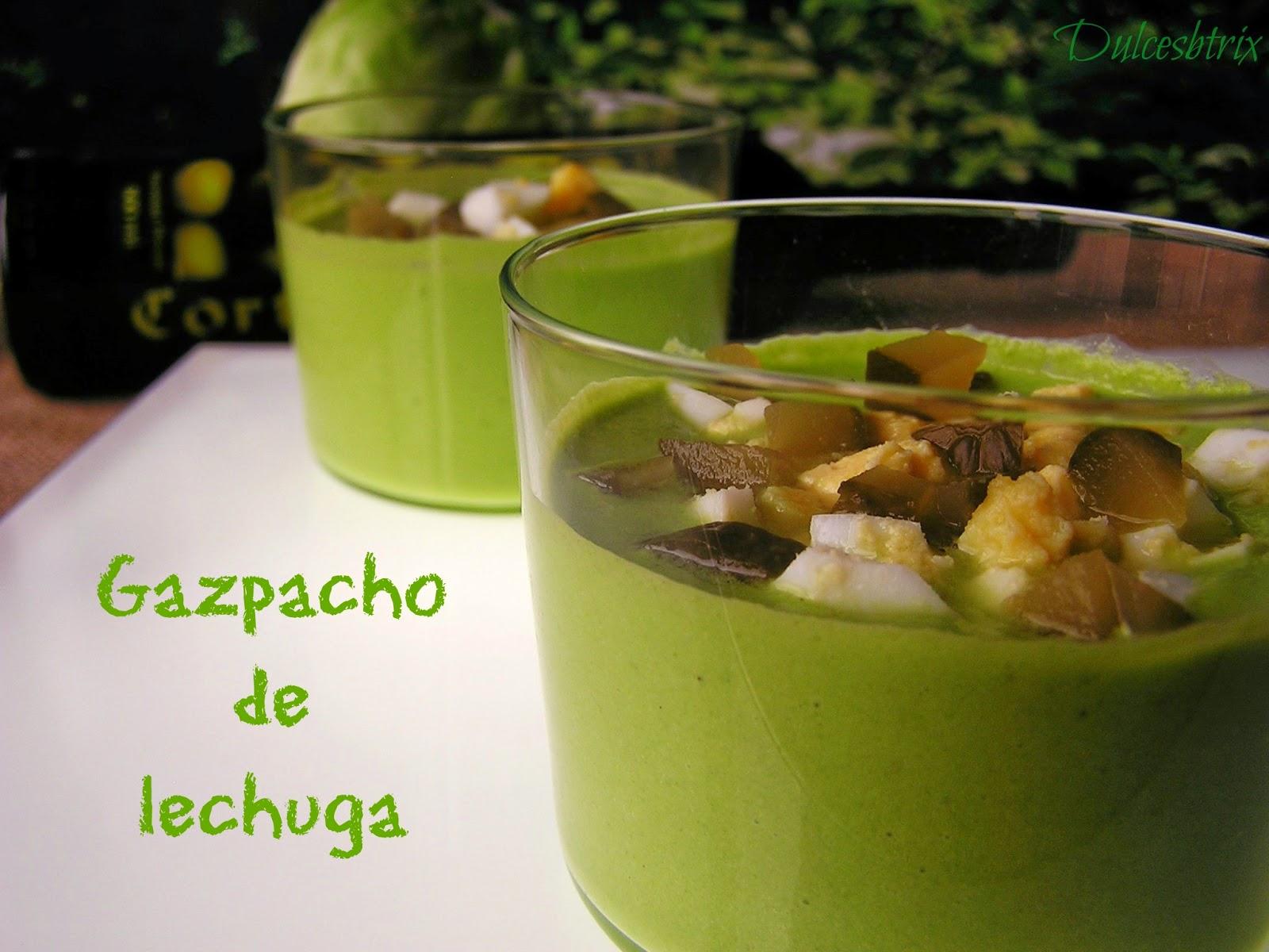 Gazpacho de lechuga-dulcesbtrix