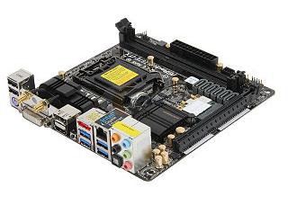 harga motherboard Asrock Z87E-ITX