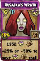 Wizard101 Polaris Level 108 Spells Rusalka's Wrath