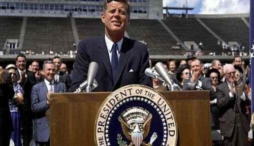 Presiden Amerika John F. Kennedy