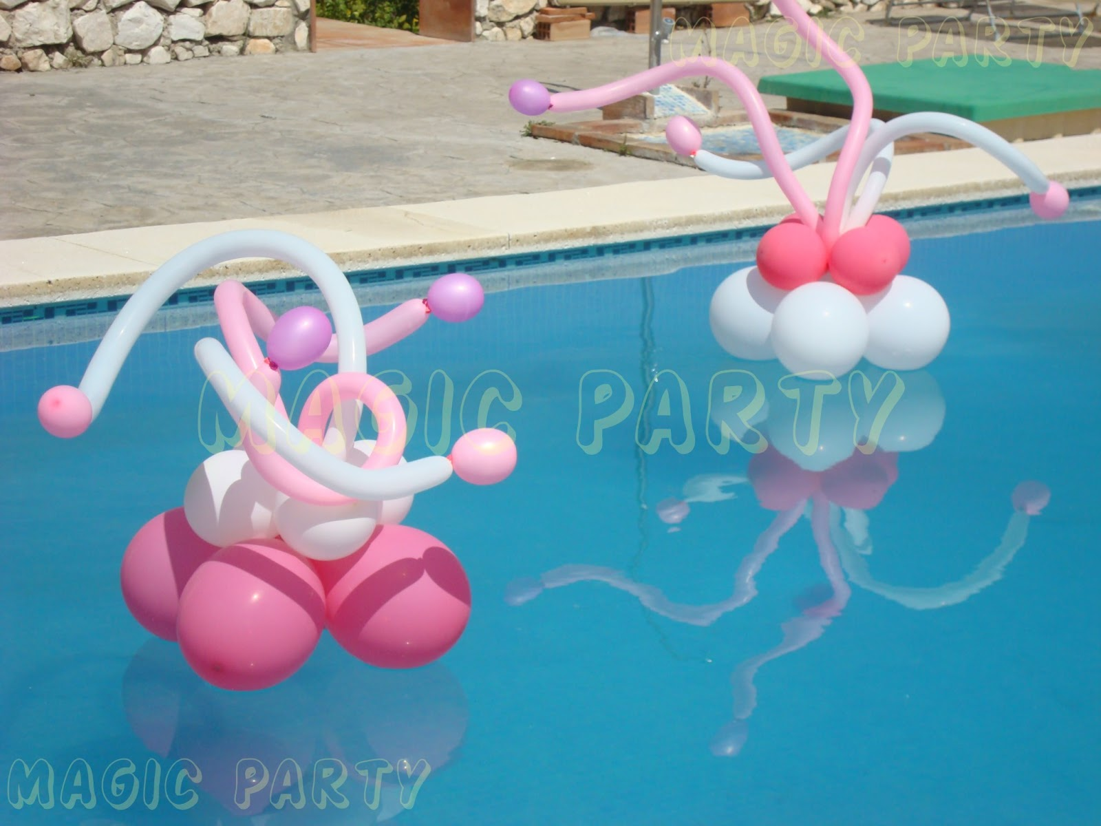 Magic party comuni n de violeta - Adornos para piscinas ...