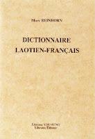 Lao book reivew - Dictionnaire laotien-français by Marc Reinhorn