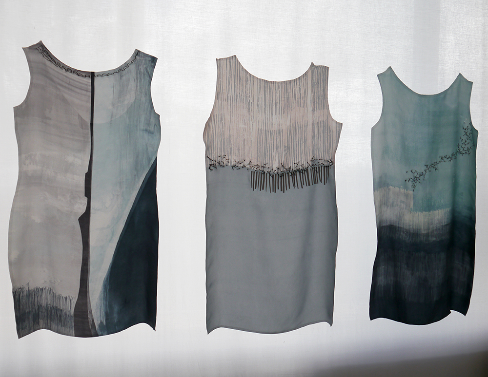 DJCAD, Duncan of Jordanstone College of Art and Design, degree show, Dundee, degree show 2015, #djcaddegreeshow, #djcaddegreeshow15, textile design, printed fabric, Shetland fabrics, Vaila Cameron