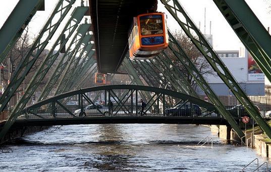 Kenali Teknologi Keretapi Gantung di Jerman
