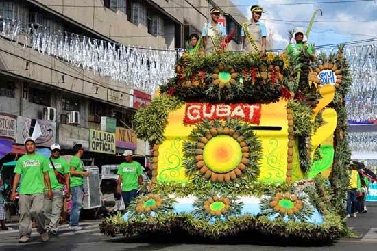 Pinyasan 2014 Float Parade Daet, Camarines Norte