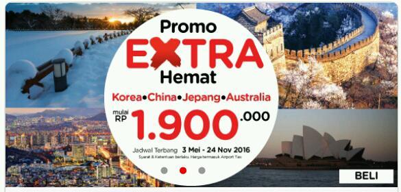 Promo Harga Tiket Pesawat Murah Air asia Januari 2016