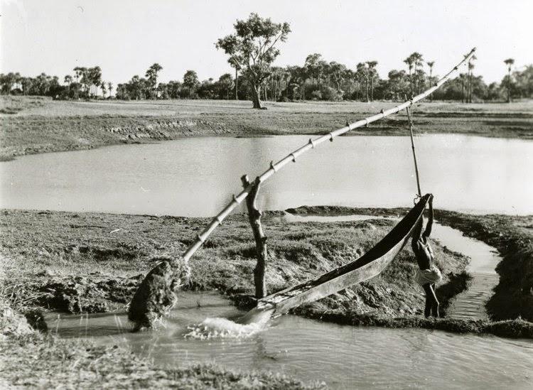Irrigation pump in India 1944