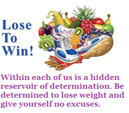 how to win a weight loss contest