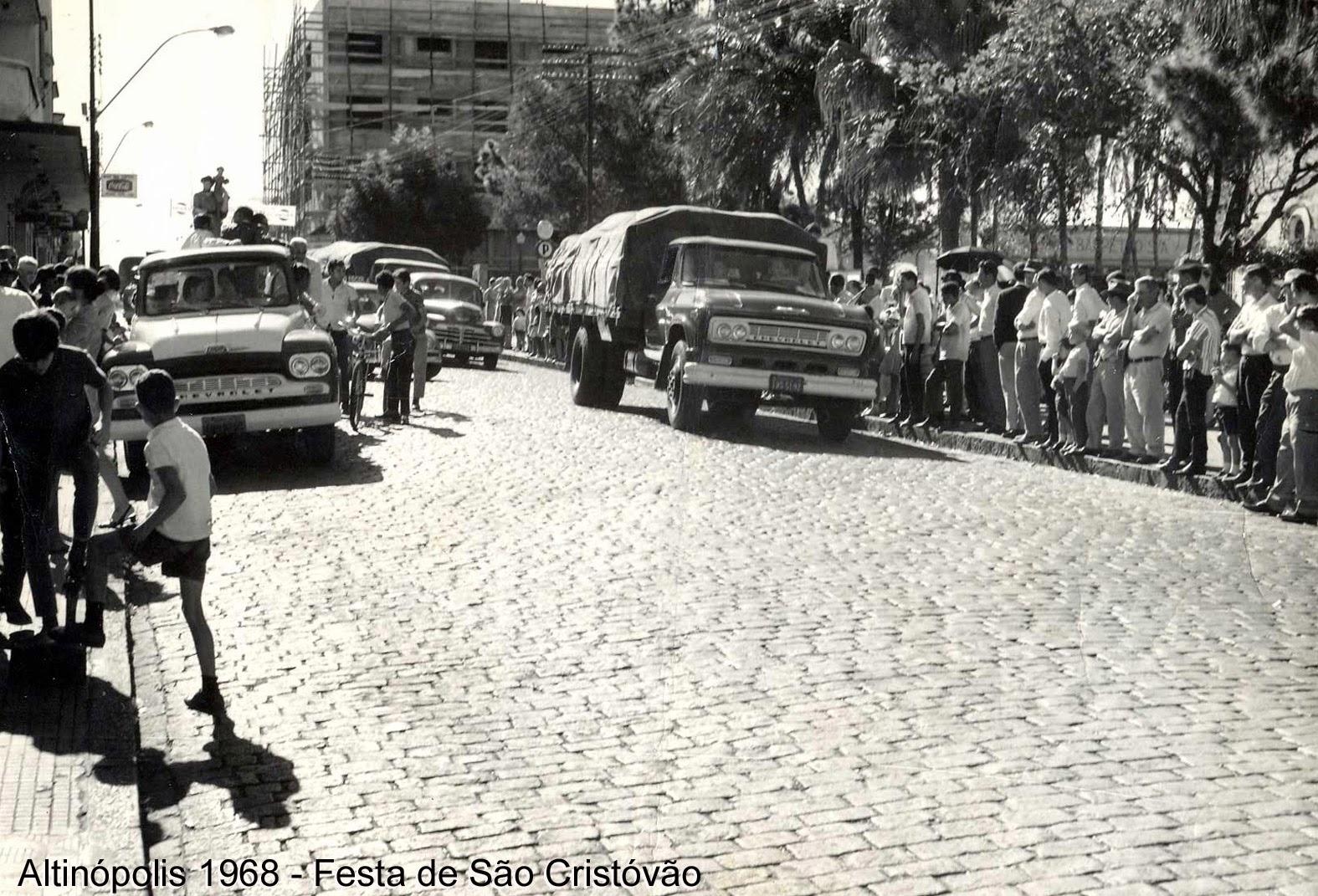 1968 - Festa de São Cristóvão.