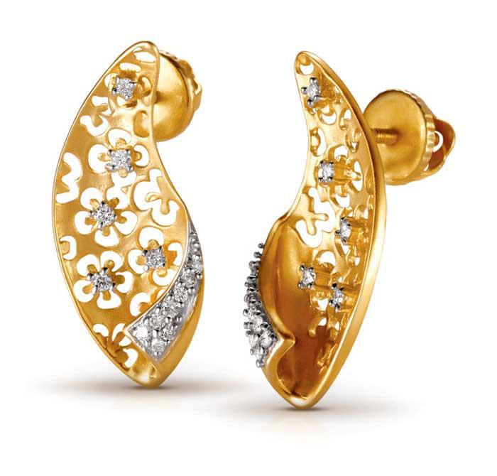 Tanishq+jewellery+earrings
