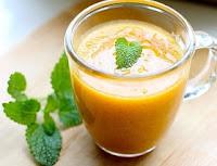 Vitamina de Mamão com Amaranto (vegana)