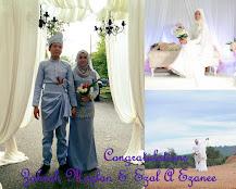 Congrats To Zahrah Mazlan & Ezal A Ezanee