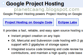 google_project_hosting