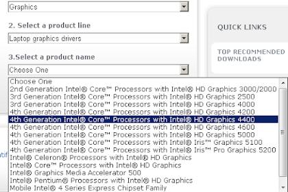 Cara Meningkatkan Perfoma Intel HD Grapich untuk Gaming