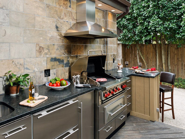 Mode Concrete Stainless Steel Outdoor Cabinets