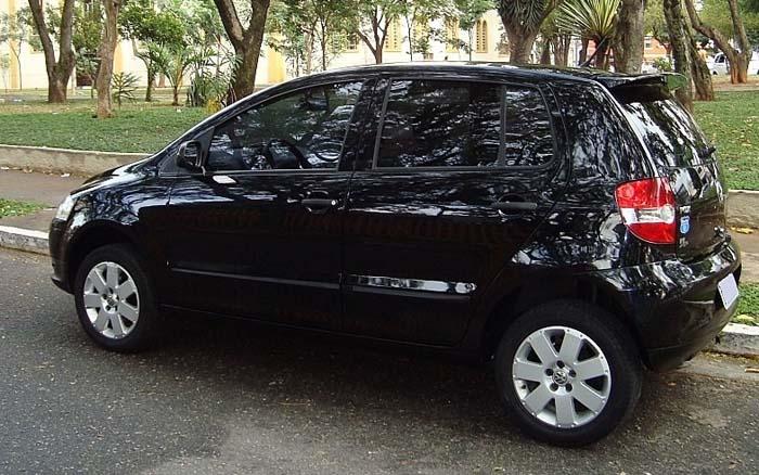 VW Fox 1.6 Route Flex 2008 preto