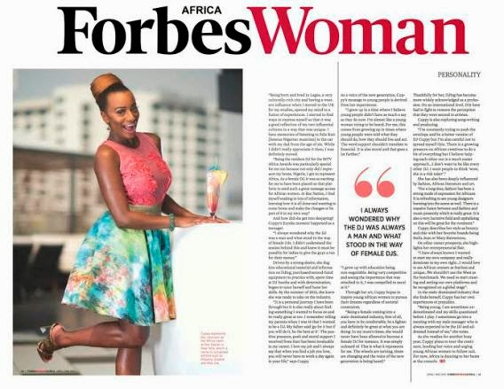 From a young age I've always wanted to prove myself - DJ Cuppy