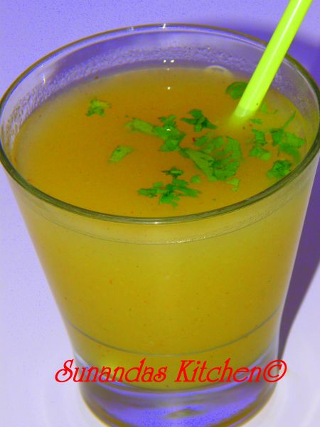 Aam panna (Raw mango refreshing cooler) | Recipes from Sunanda's ...