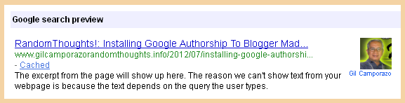 Gil Camporazo Google Authorship