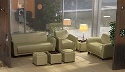 Leather Lounge Furniture Set