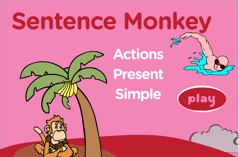 http://www.eslgamesplus.com/present-simple-tense-action-verbs-interactive-monkey-game/
