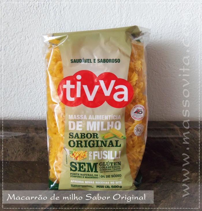 Massa de milho sabor original
