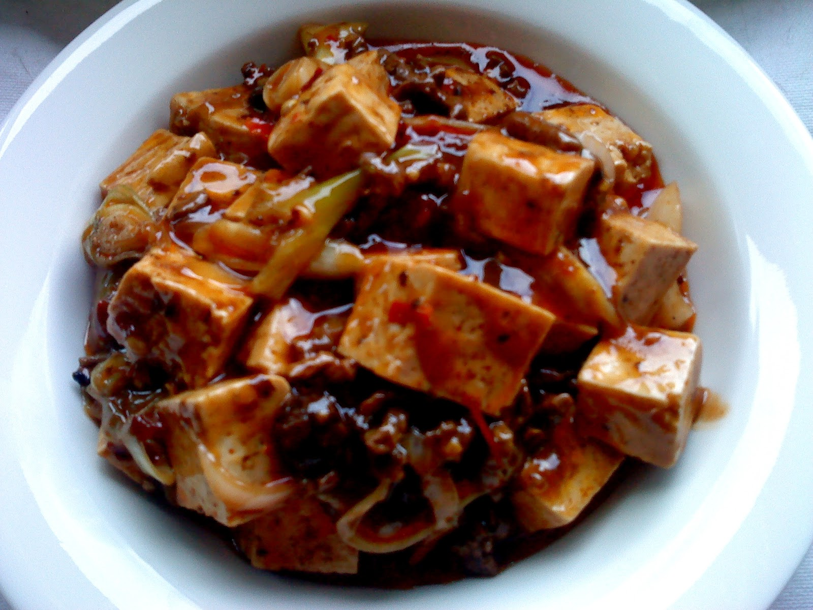 MaPo Tofu (Spicy Bean Curd With Beef) Recipe — Dishmaps