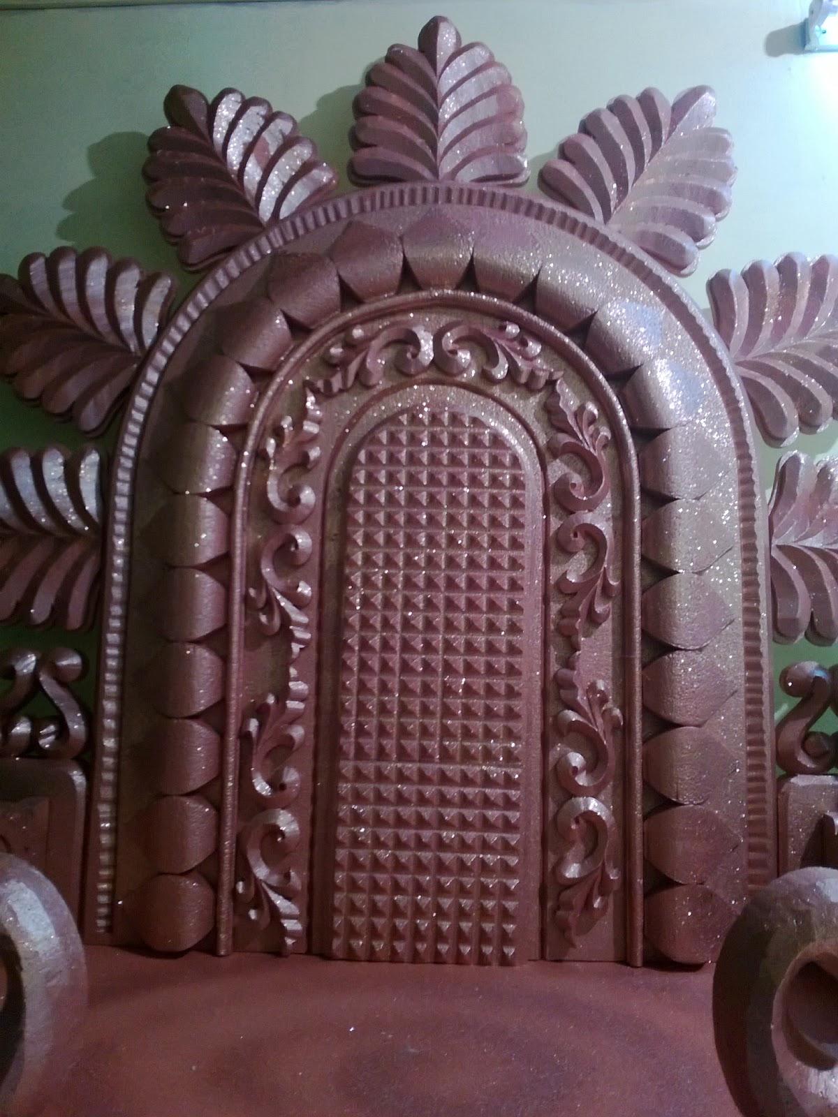 Thermocol makhar cutting joy studio design gallery for Room decor ulhasnagar