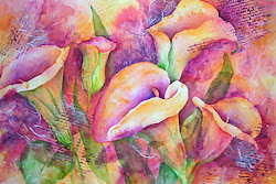 Watercolor Collage Workshop  June 29, 2013