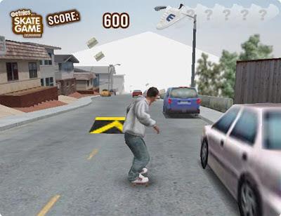 skater game