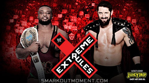 WWE Extreme Rules 2014 Bad News Barrett defeats Big E pay-per-view