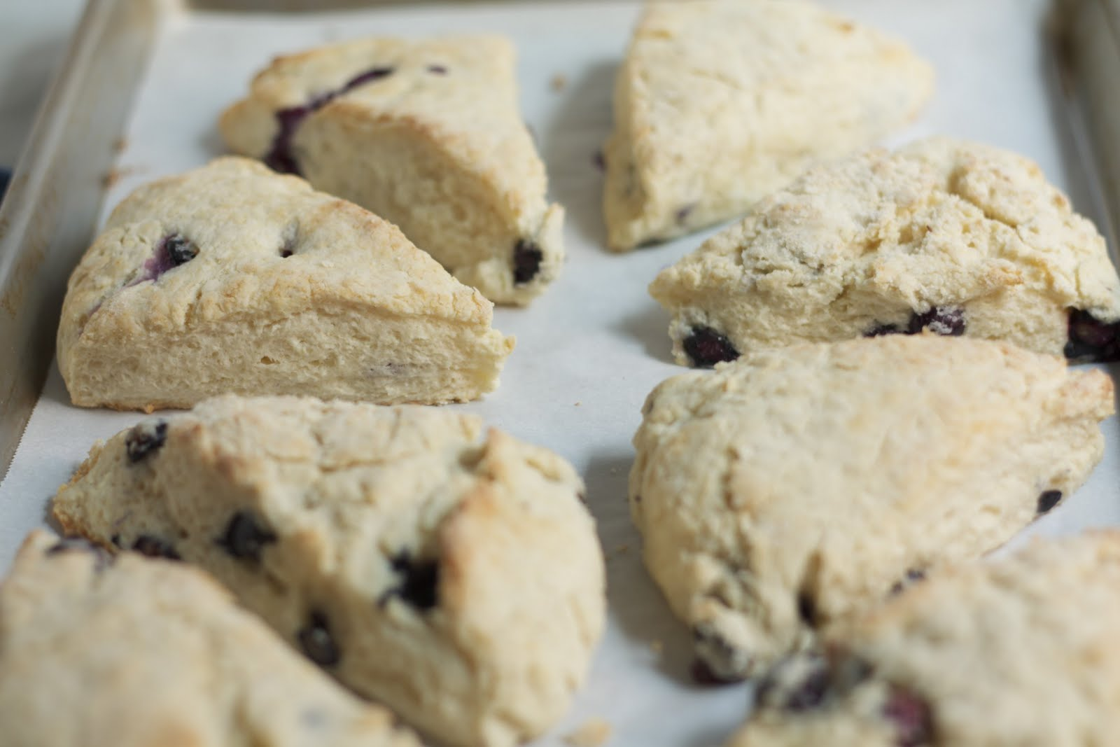 Scones, surprisingly, are really easy to throw together. And, they ...