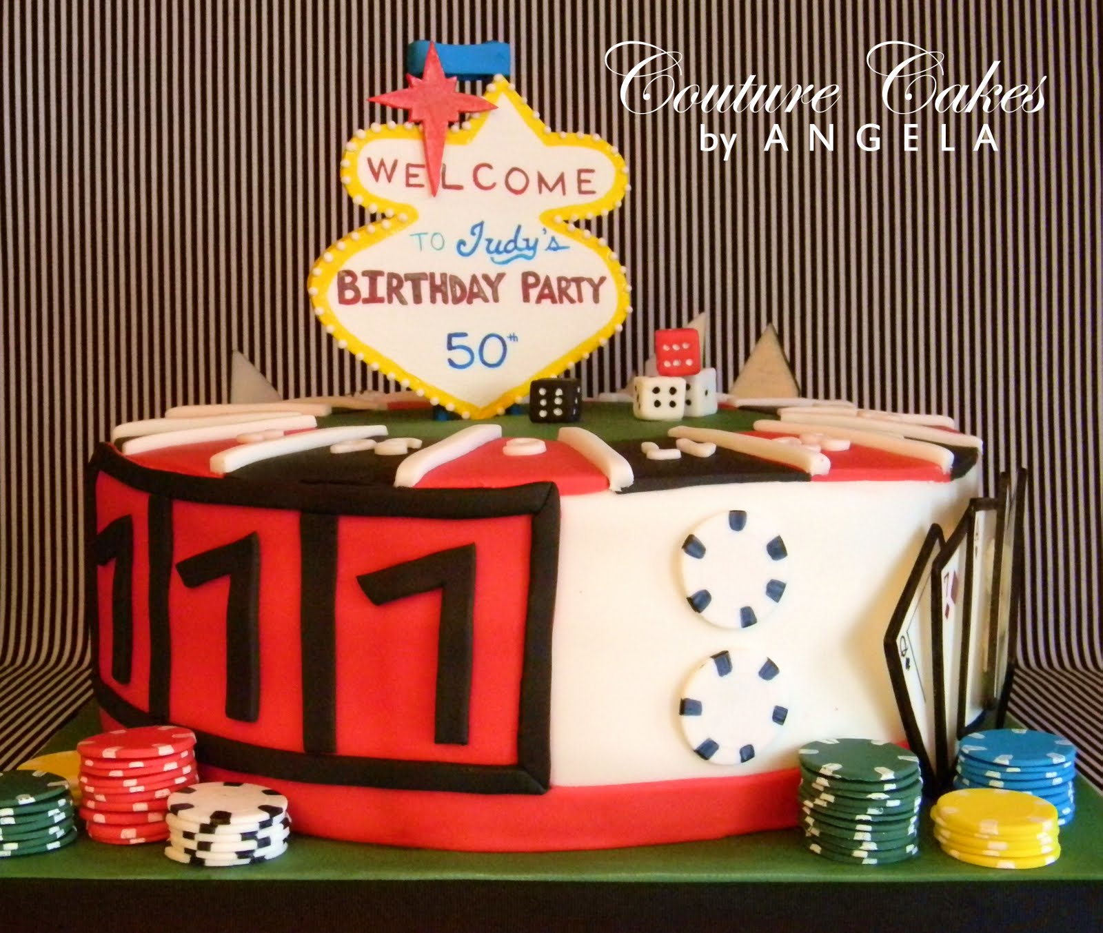 Couture Cakes By Angela Viva Las Vegas