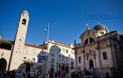 Dubrovnik square