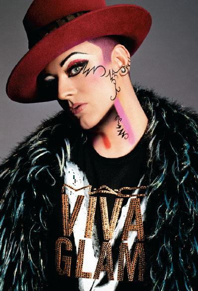 FormidableArtistry Boy George MAC Viva Glam V