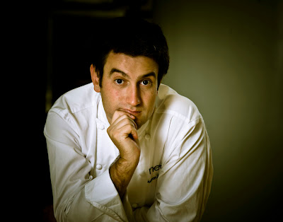 Josean Alija en el restaurante Nerua.Blog Esteban Capdevila