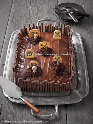 halloween chocolate cake ideas