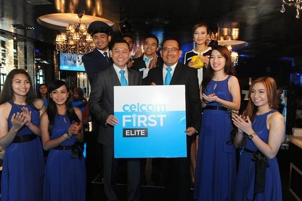 Convenience Control Made For You, Celcom First Elite, First Elite, Made For You